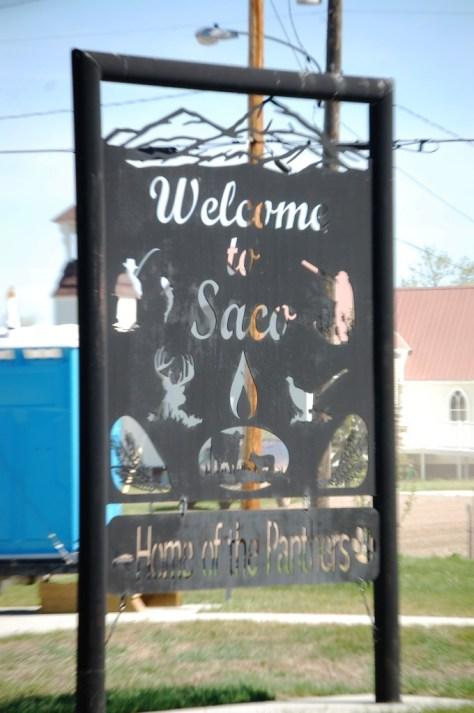 Welcome to Saco, Montana