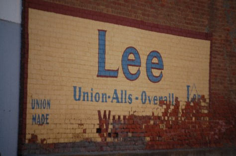 Old Lee Ghost Sign in Saco, Montana