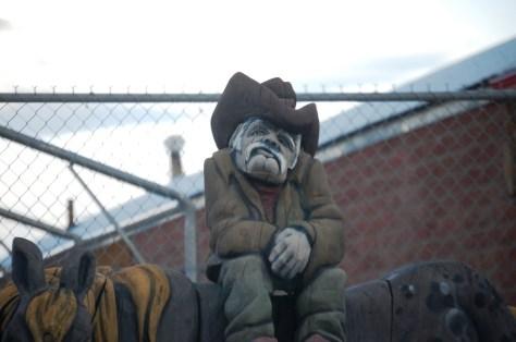 Grumpy Cowboy in Choteau, Montana
