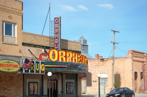 Orpheum Theater in Conrad, Montana