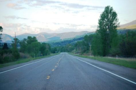 US 89 south towards Monarch, Montana