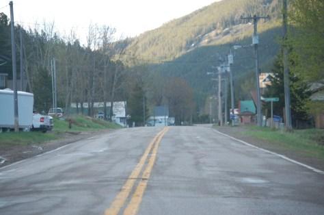 US 89 runs through Neihart, Montana