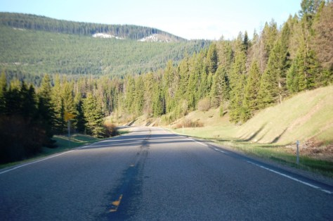 US 89 south of Kings Hill Pass