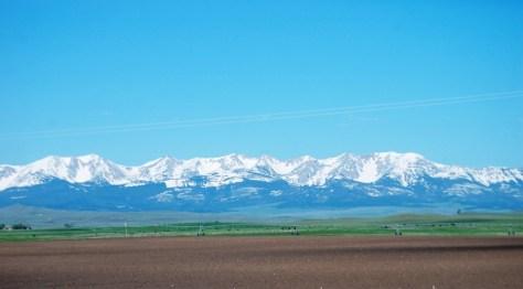Mountain views are breathtaking
