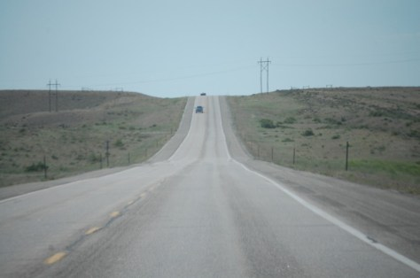US Route 20 north of Shoshoni, WY