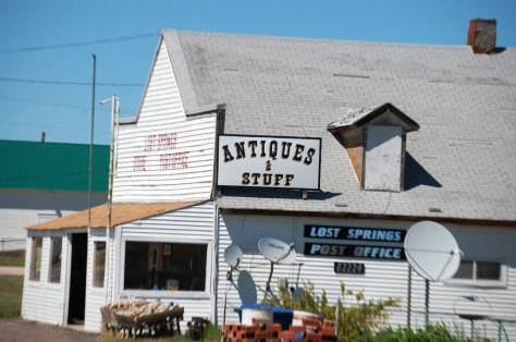 Another view of the Lost Springs store and post office