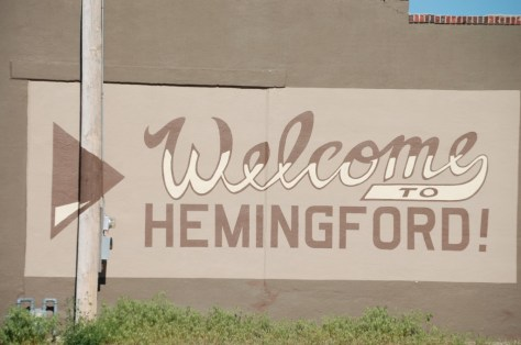 Welcome to Hemingford, Nebraska