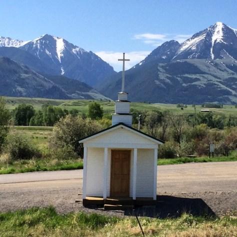 Wayside Chapel on US 89 south of Livingston