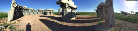 Panorama View of Carhenge