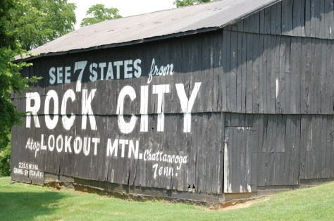 Old Rock City Barn in Loretto, KY