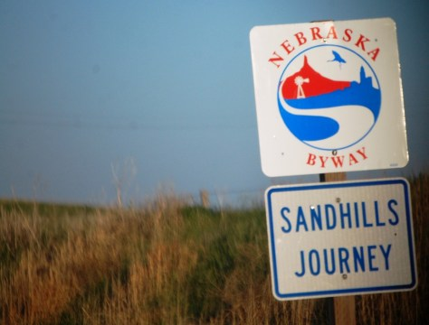 Sandhills Journey Scenic Byway on Nebraska Hwy 2