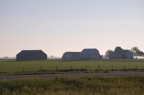Early morning in the heartland of America...east central Nebraska on I-80