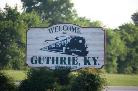 Welcome to Guthrie, KY