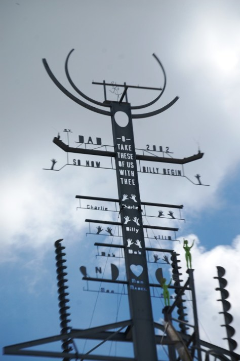 A kind of Totem pole at the Mindfield