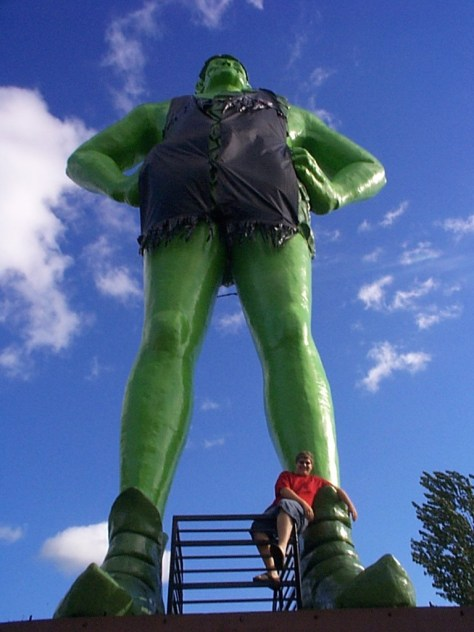 Jolly Green Giant in Black Earth, MN