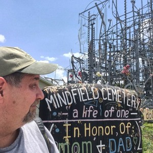 Sumoflam at Tripp's Mindfield Cemetery in Brownsville, TN