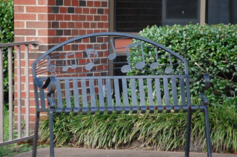 Musical Benches around Clarksdale, MS