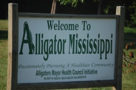 Welcome to Alligator, MS