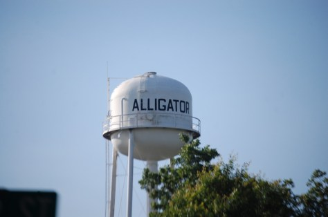 Alligator Water Tower, Alligator, MS