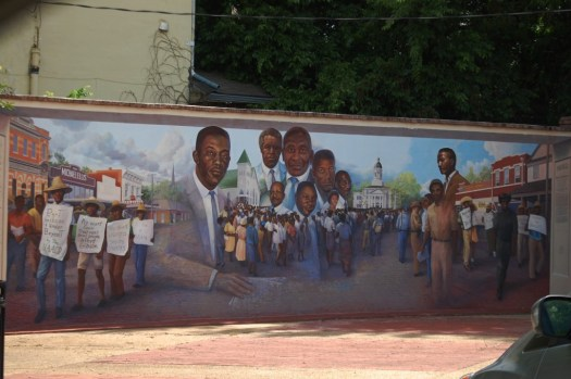 Large Wall Mural in Port Gibson, MS