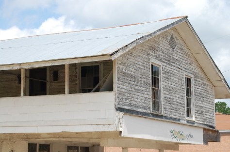 Old building that housed the Rabbit Foot Minstrels in Port Gibson, MS