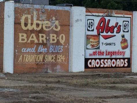 Abe's Bar-B-Q in Clarksdale, MS at the Crossroads