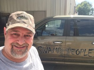 Swamp People Truck at Duffy's Bait Shop in Pierre Part