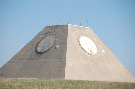 The Pyramid Shaped MSR of the Mickelsen Safeguard Complex