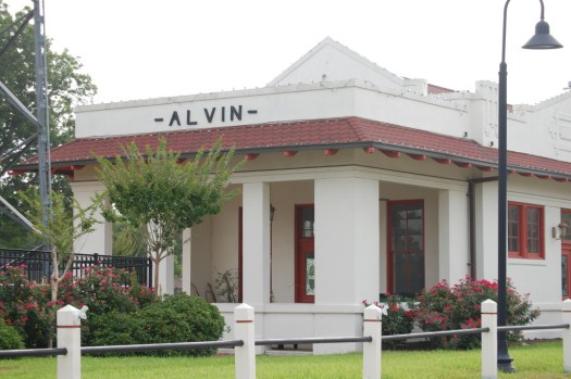 Alvin Historic Depot Center, Alvin, TX