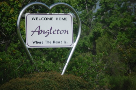 Welcome to Angleton, Texas