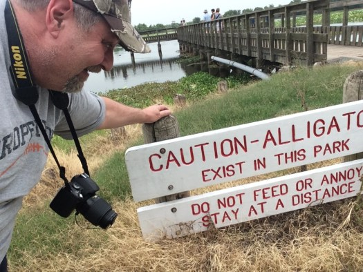 Caution - Alligators