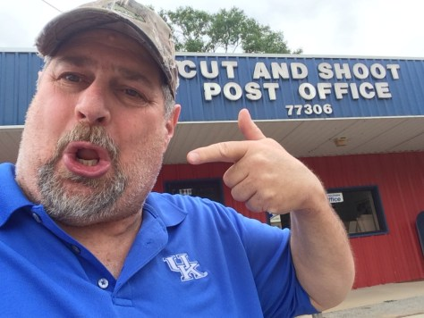 Cut and Shoot Post Office in Texas
