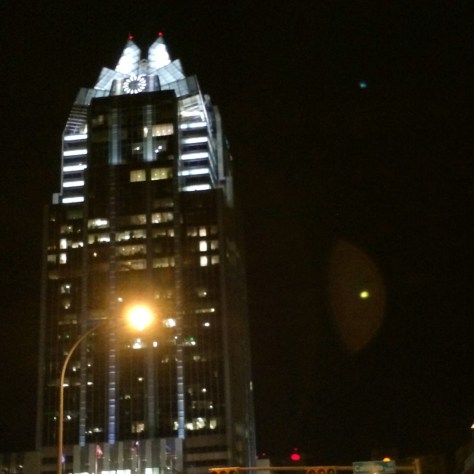 "The ""Owl"" in downtown Austin"