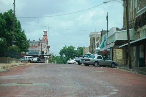 Downtown Honey Grove, Texas