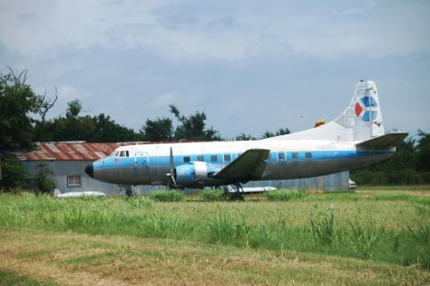 Old Airplane in Toco, TX..totally out of place