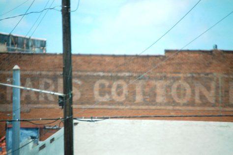 Paris Cotton old ghost sign
