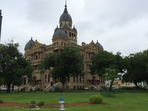 Denton County Courthouse-on-the-Square in Denton, TX