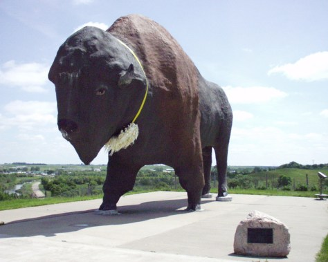 World's Largest Buffalo in Jamestown, ND