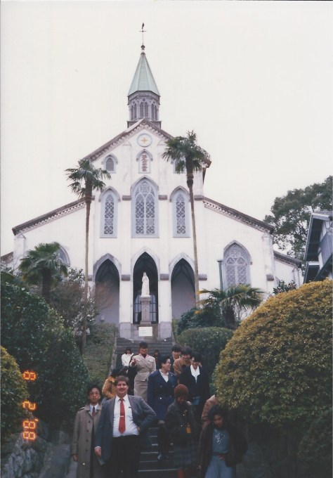 Old Christian Church in Nagasaki 1988