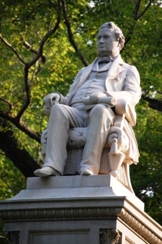 Garfield Monument in Lake View Cemetery