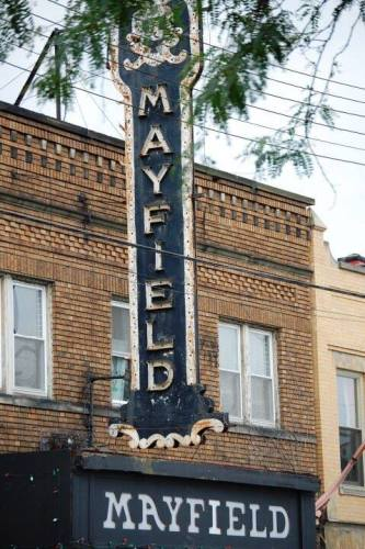 Old Mayfield Theater on Mayfield in Little Italy