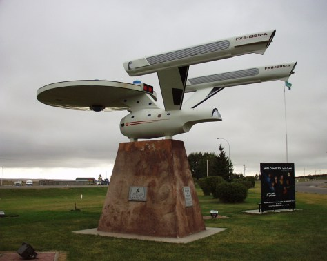 Starship Enterprise in Vulcan, Alberta