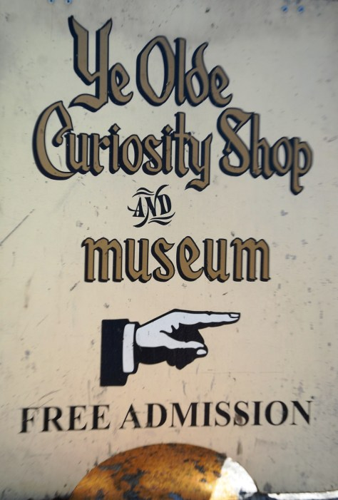 Ye Olde Curiosity Shop is a must see stop for the lovers of the offbeat and quirky