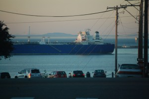 Ships in Port Angeles, WA