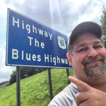 On the Blues highway in Mississippi in 2014