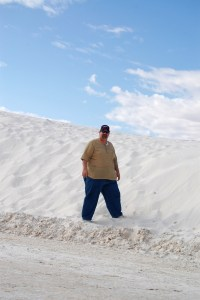 Visiting White Sands, NM in 2013