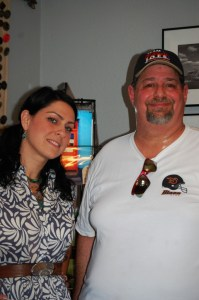 Hanging with Danielle Cushman from American Pickers at Antique Archeaology in 2012