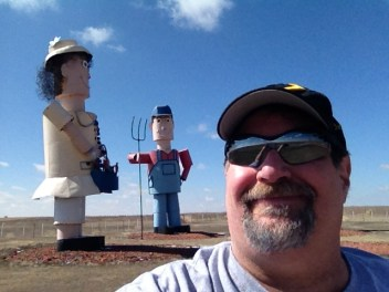 On the Enchanted Highway in Western North Dakota in 2013
