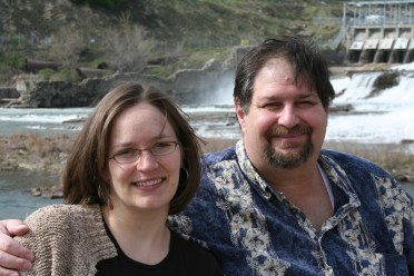 With my oldest daughter Amaree at the same Great Falls in 2006