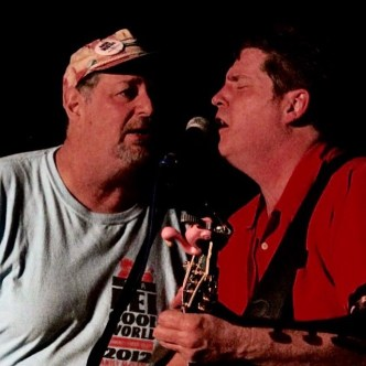 Singing with good friend Antsy McClain, who I met in Kentucky in the 1990s